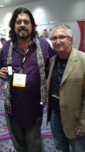 I had the opportunity to meet one of my all time heroes, Alan Parsons, at CES last year