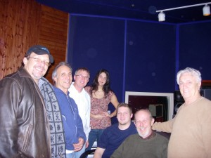 Working in Las Vegas 2007 doing session work for producer Tommy DeVito of The Four Seasons
